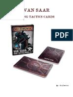 Gang Tactics - Van-Saar - 2nd Ed