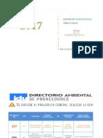 0001. Directorio de Proveedores (15.10.17)