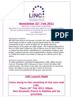 Newsletter 23rd Feb 2011