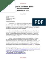 Nunes Et Al Letter to Nakasone on Ellis