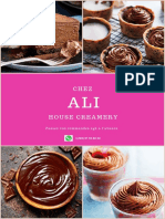 Chocolate Ice Cream Cone Advertising Poster