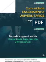 Engemarinha Universitários - Lancamento