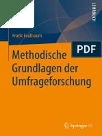 Faulbaum (2019) - Methodische Grundlagen Der Umfrageforschung