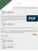 C - Bit Fields - Tutorialspoint