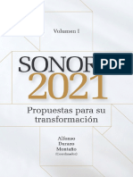 Sonora 2021 Propuestas para su transformación - TOMO I