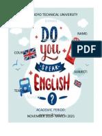 Portafolio Ingles