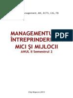 310074964 Managementul Intreprinderilor Mici Si Mijlocii