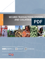 Secured Transactions Systems and Collateral Registries Toolkit