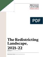 The Redistricting Landscape, 2021–22