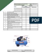 Check List Compresora de Aire