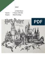 Booklet Harry Potter 1
