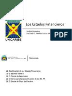 2- Los Estados Financieros