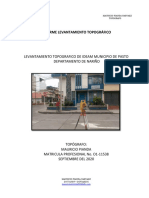 INFORME TOPOGRAFICO - IDEAM