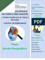 D. Etnograficos