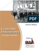 __Dolores Mujica - Cordones Industriales. Cronología Comentada
