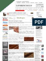 Pavimenti ecologici in legno