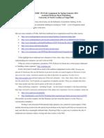 JOMC 153 FAQ Assignment for Spring Semester 2011