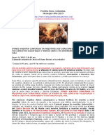 Profeta Enoc – Colombia – Mensajes Del Buen Pastor (2013)