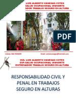 responsabilidad civil y penal para trabajo seguro en altura