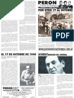 Perón vence al tiempo 28