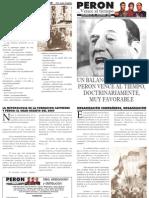 Perón vence al tiempo 30