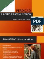 Aula Livros - Amor de Perdição, Camilo Castelo Branco (slides)