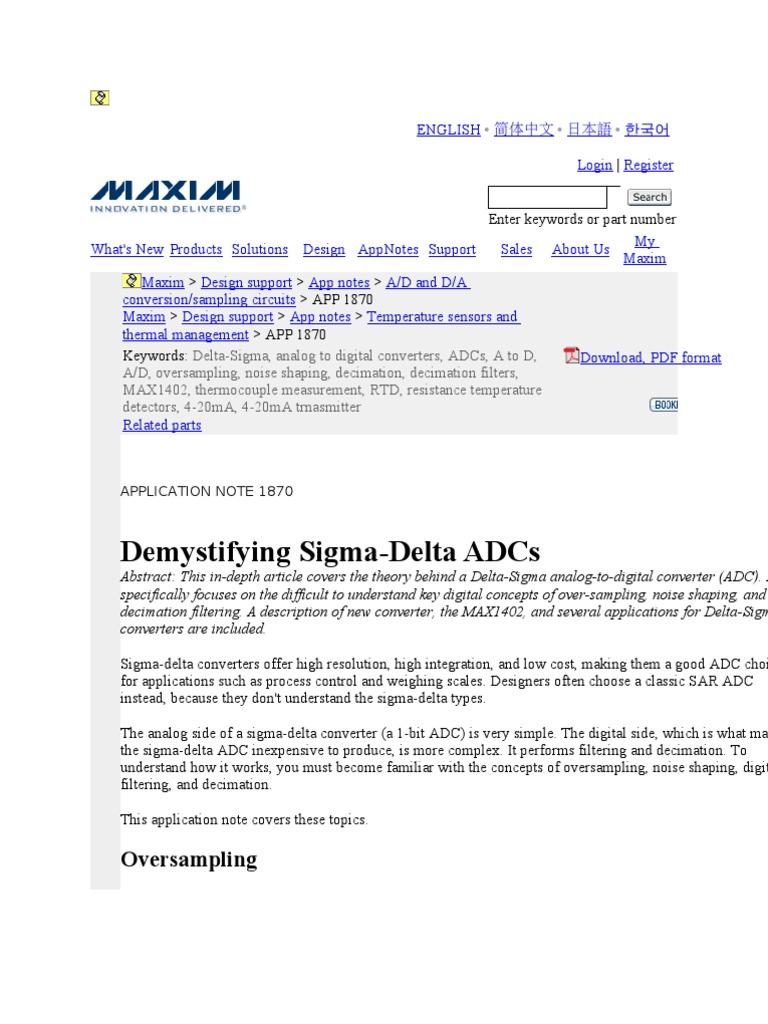 Cmos Analog To Digital Converter Signal Noise Ratio Ad Circuit