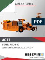 MANUAL DE PARTES_CARGADOR DE ANFO_JMC-680