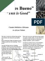 Esto Es Bueno_This is Good
