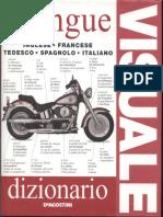 Dizionario Visuale - 5 Lingue - Inglese Francese Tedesco Spagnolo Italiano