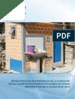 Sistematización de Experiencia. Saneamiento Ecológico. Miguel Canaza