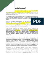 Tarea Historia Del Derecho Romano