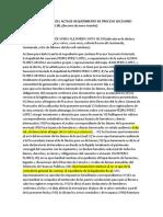 PRIMERA RESOLUCION DEL ACTA DE REQUERIMENTO DE PROCESO SUCESORIO INTESTADO JUDICIAL