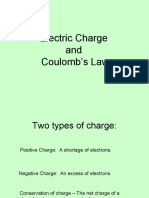 Electric Charge and Coulomd's Law