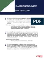 #OracionparaelFindeCOVID19 - Puntos de oracion - SIM