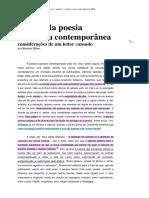 T2 A crise da poesia brasileira contemporânea - Ranieri Ribas
