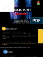 Fasciotomy Procedure(dr. Heriadi Hamid)