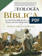 Caratula Arqueología Bíblica - Pedro Cabello Morales red2