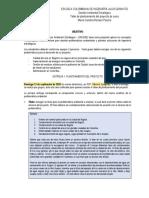 Pautas proyecto GAES 2020-2