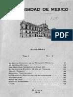 Revista de la Universidad diciembre-1930