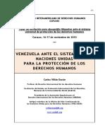 VENEZUELA ANTE ANTE EL SISTEMA UNIVERSAL