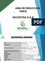 INDUCION HSEQ SECONTSA S.A.S.