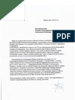 Odpowiedź Radcy Uniwersytetu w Sprawie Praktyk Dydaktycznych Doktorantów UG