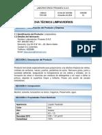 Ftlp-020 Limpiavidrios Proaseo