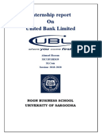 united bank limited finance