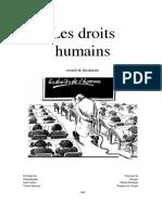 DES DROITS HUMAINS