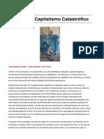 COVID-19 y Capitalismo Catastrófico