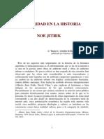 Jitrik Noe - Bipolaridad En La Historia