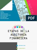 GRUPO 3 ETAPAS DE LA AUDITORIA FINANCIERA