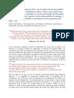 DISPLICENCIA ANTE EL COMPORTAMIENTO DE UNA IGLESIA